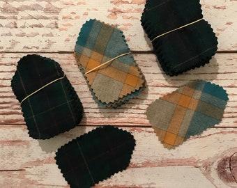 Wool Fabric Scraps
