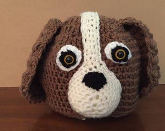 Crochet Hat // Spaniel // Beanie // Handmade // Dog //
