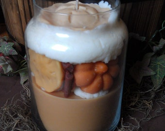 Pumpkin Pie Spice Soy Jar Candle