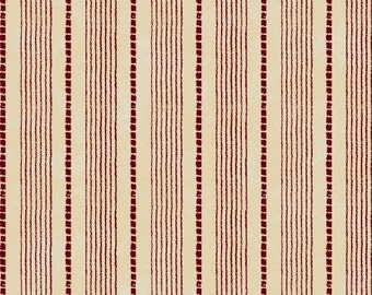 Windham Basics - Red & White Shirting Stripe Fabric