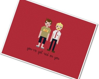 Shaun of the Dead - The *Original* Pixel People - PDF Cross Stitch Pattern - INSTANT DOWNLOAD