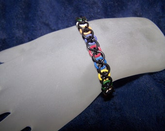 Rubber Stretch Bracelet - You choose the colors