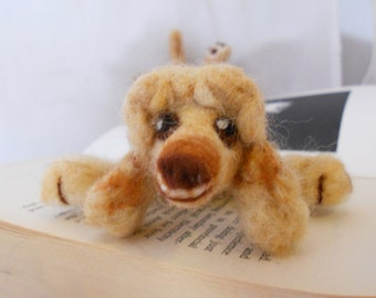 Splat - custom dog or cat bookmark