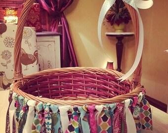 Easter Basket Garland/Easter Basket Decor/Easter Basket/Easter