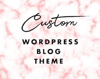 Custom WordPress Blog Theme