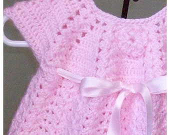 Pink Dress and Bootie Set