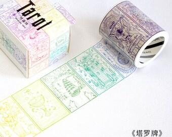 Tarot cards washi tape