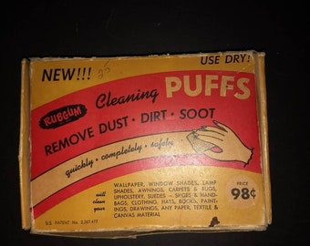 Vintage Puffs cleaning cloths