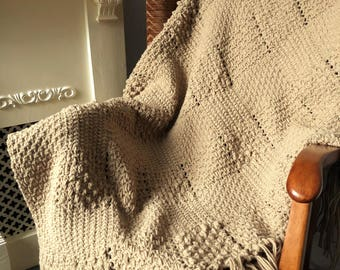Crochet & Weave Pattern Texture Texture Texture Plaid Throw