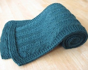 Randall Herringbone Scarf knitting pattern (pdf digital download)