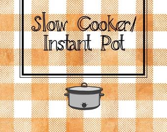 Country Kitchen Recipe Binder Dividers