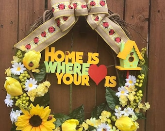 "18"" Home Wreath"