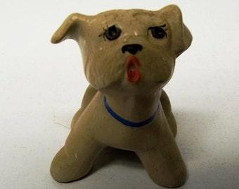 Tiny Vintage Dog