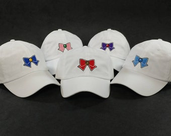 Sailor Scouts Cap Set