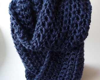 Infinity Scarf Knit Cowl Scarf Crochet Circle Scarf Chunky Scarf Loop Scarf Mobius Scarf Sale Crochet Infinity Scarves Chunky Infinity Scarf