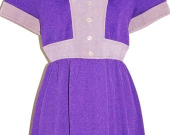 1960s Knit Mini Dress Sz 4 Vintage Retro Disco Hippie