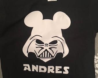 Star Wars Darth Vader Disney Shirt