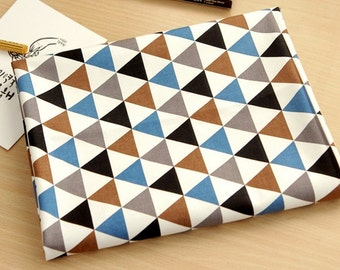 Oxford Cotton Fabric Mini Triangle By The Yard