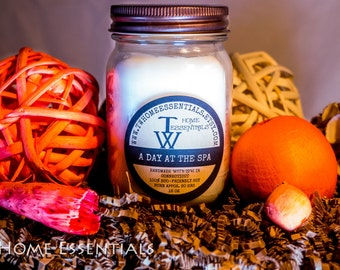 A DAY at the SPA Soy Candle