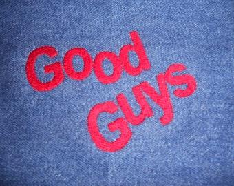 Good Guys (machine embroidery 4x4, dst, hus, pec, pes, xxx)