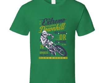 The Extreme Sport Division Downhill Bicycle T Shirt
