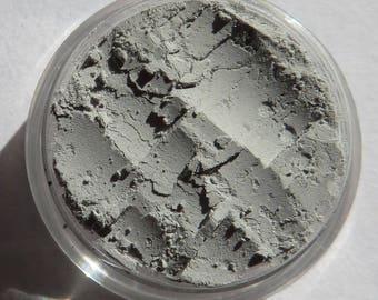 Matte Pale Gray Mineral Eyeshadow   Eco-Friendly   Loose Pigments   No Shimmer   Semi-Sheer   Vegan Mineral Eye Shadow - Ghosts