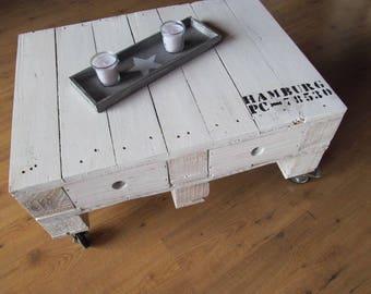 Design range table HAMBURG with drawers *.