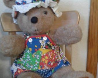 Vintage Princess Soft Toy Bear/Union Falls, Minn.