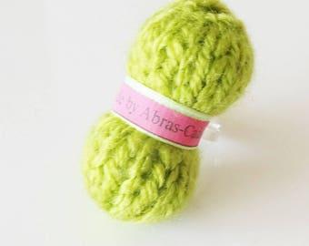 Ball of yarn (customizable) anise ring