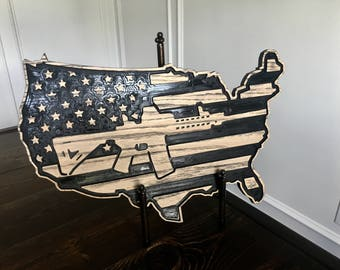 AR-15 USA Map