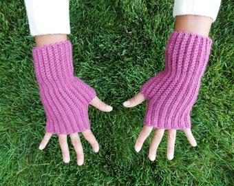 SALE Peruvian Fingerless gloves handmade