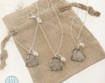 FINGERPRINT necklace, Custom heart fingerprint, made from JPEG image of Fingerprint or Thumbprint, keepsake jewelry