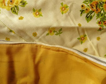 Vintage Duvet Cover Reversible Mid Century Bedspread