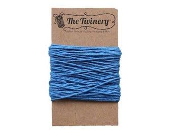 Blue Bakers Twine - Solid Denim - 15 Yard Bundle
