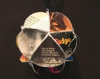 Vanilla Fudge Album Cover Ornament Made From Record Jackets