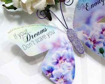 Butterfly Embellishments Dream Big