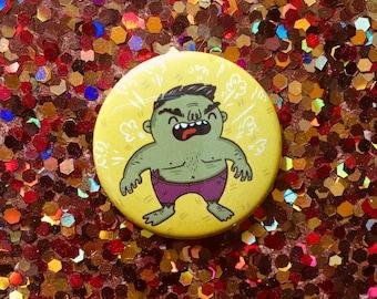 Hulk Pin, Hulk Magnet, Avengers Hulk