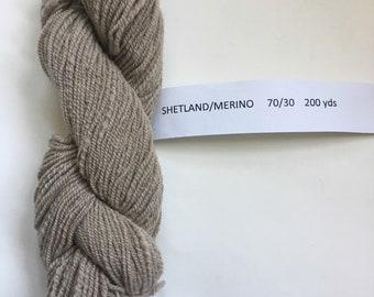 Yarn Shetland Blend in Taupe