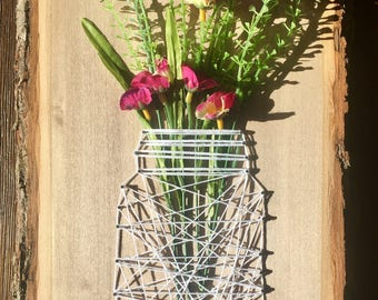 MADE TO ORDER Mason Jar String Art