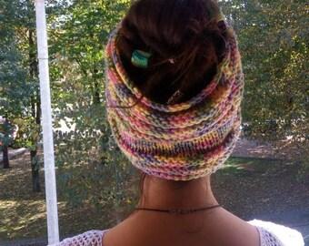 Multicolored dread band. dread tube. dread band. Dread sock. Neck warmer.