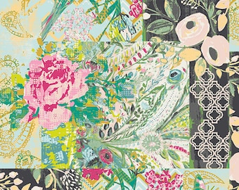 Collage Poise Glam Millie Fleur - Bari J. - Art Gallery Fabric - 100% Quilters Cotton Available in Yards, Half Yards and FQ's MFL-11361