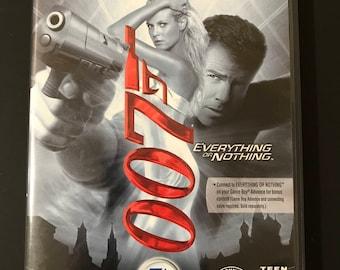 Nintendo Game Cube 007 Everything or Nothing (FREE SHIPPING)