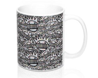 Psychedelic Boognish Mug