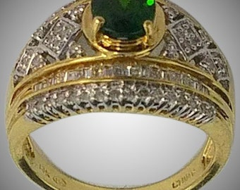 14K Diamond Ring Fit for a Queen