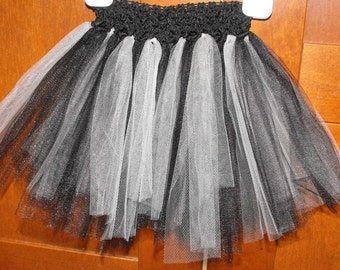 Black and Grey/Silver Princess Tutu