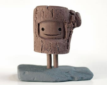TIM - Handmade Collectible Figure - DIY (Paint, Customize)