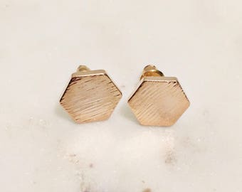 Cloesed hexagons Earrings