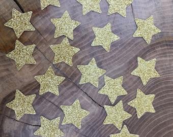 150 Glitter Gold Star Confetti pieces. Twinkle star confetti, Table decoration