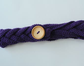 Handmade Crochet Braided Ear Warmer