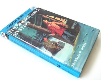 Hardy Boys Hollow Book Safe Short Wave Mystery Hollowed out Book Secret Stash Compartment Keepsake box
